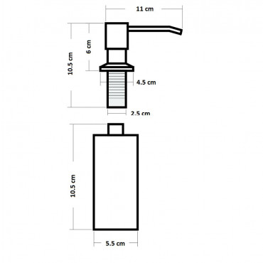 HushLab dozownik do mydła w płynie - 739496_O2