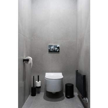 HushLab Level Perfect miska WC wisząca bezrantowa z deską wolnoopadającą (zestaw) - 739508_A2