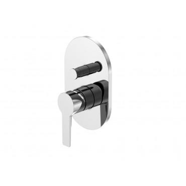 HushLab Selection by Steinberg 222 bateria podtynkowa wannowo-prysznicowa element zewnętrzny - 729068_O1