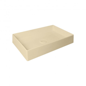 HushLab SUPER SLIM 60 umywalka 60X37 kolor piaskowy matowy - 781838_O1
