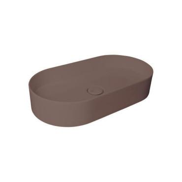 HushLab SLIM 65 umywalka 65X34,5 kolor kawowy matowy - 781776_O1