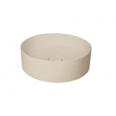 HushLab SLIM 40 umywalka 40X40 kolor kości słoniowej matowy - 781581_O1