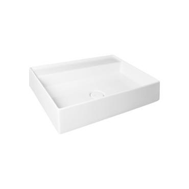 HushLab IN LOVE 60S umywalka wisząca 60X45cm kolor biała matowy - 766715_O1