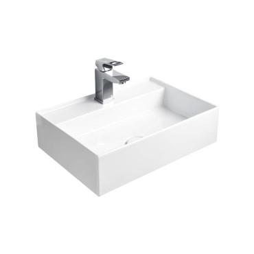 HushLab InLove umywalka wisząca 50S 50x35 kolor biała matowy - 767107_O1