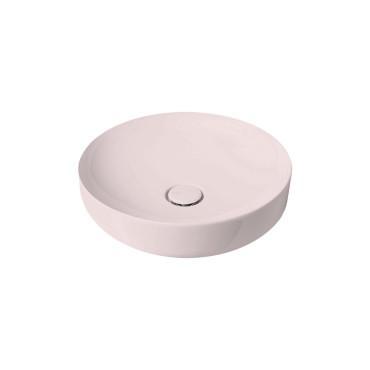 HushLab Soul 45 umywalka okrągła fi. 45 kolor różowy matowy - 781579_O1