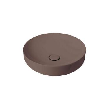 HushLab Soul 45 umywalka okrągła fi. 45 kolor kawowy matowy - 781783_O1