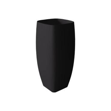 HushLab Run umywalka stojąca 45x40 kolor czarny matowy - 781820_O1