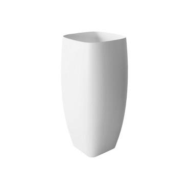 HushLab Run umywalka stojąca 45x40 kolor biała matowy - 781994_O1