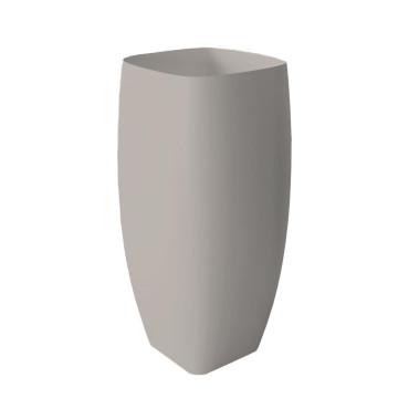 HushLab Run umywalka stojąca 45x40 kolor szary matowy - 781764_O1