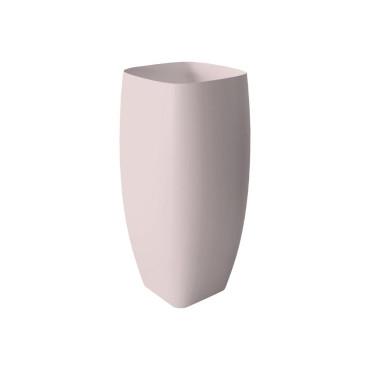 HushLab Run umywalka stojąca 45x40 kolor różowy matowy - 782019_O1