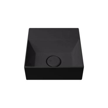 HushLab Small 30 umywalka wisząca 30x30 kolor czarny matowy - 773350_O1