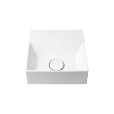 HushLab Small 30 umywalka wisząca 30x30 kolor biała matowy - 773283_O1