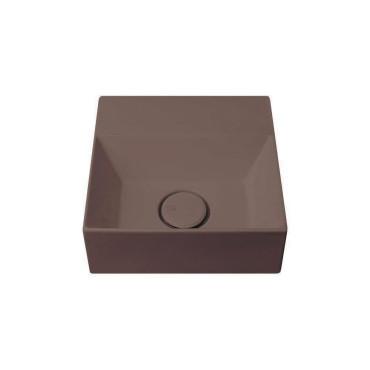 HushLab Small 30 umywalka wisząca 30x30 kolor kawowy matowy - 781849_O1
