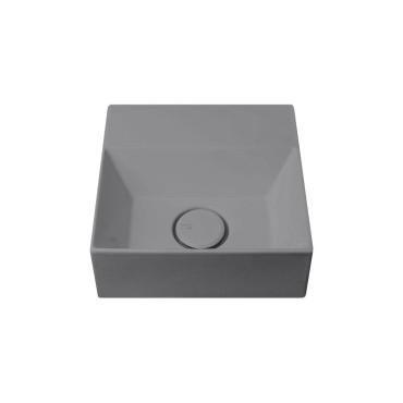 HushLab Small 30 umywalka wisząca 30x30 kolor antracytowy matowy - 773276_O1