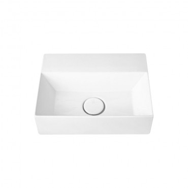 HushLab Small 40 umywalka wisząca 40x30 kolor biała matowy - 773344_O1