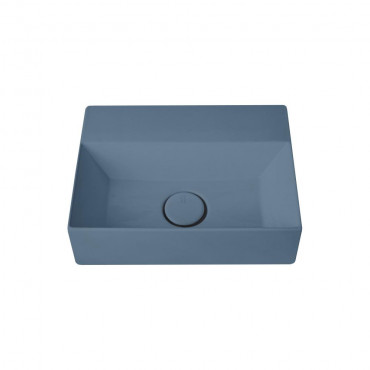 HushLab Small 40 umywalka wisząca 40x30 kolor indigo matowy - 782066_O1
