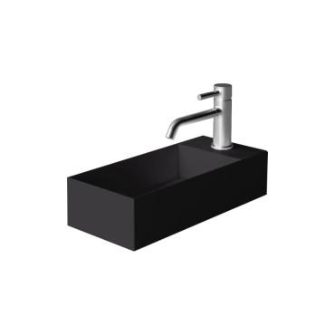 HushLab Small 45 umywalka wisząca 45x20 kolor czarny matowy - 773362_O1