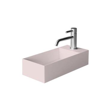HushLab Small 45 umywalka wisząca 45x20 kolor różowy matowy - 781519_O1