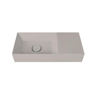 HushLab Small 55 umywalka wisząca 55x25 kolor szary matowy - 773337_O1