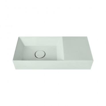 HushLab Small 55 umywalka wisząca 55x25 kolor jasnozielony matowy - 781911_O1