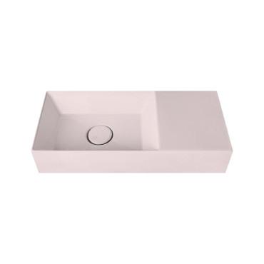 HushLab Small 55 umywalka wisząca 55x25 kolor różowy matowy - 781608_O1