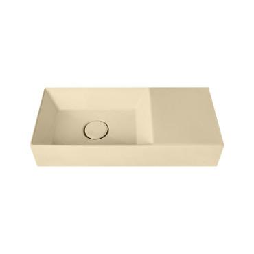 HushLab Small 55 umywalka wisząca 55x25 kolor piaskowy matowy - 781897_O1