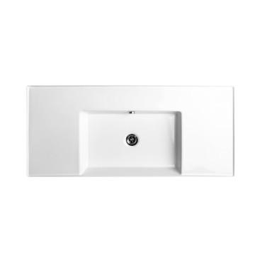 HushLab InLove umywalka wisząca z półkami po bokach 46x101 - 771990_O1