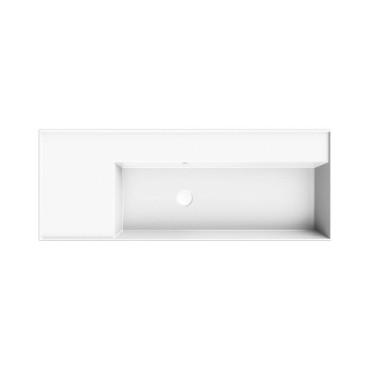 HushLab InLove umywalka wisząca z półką po lewej stronie 46x121 - 771995_O1