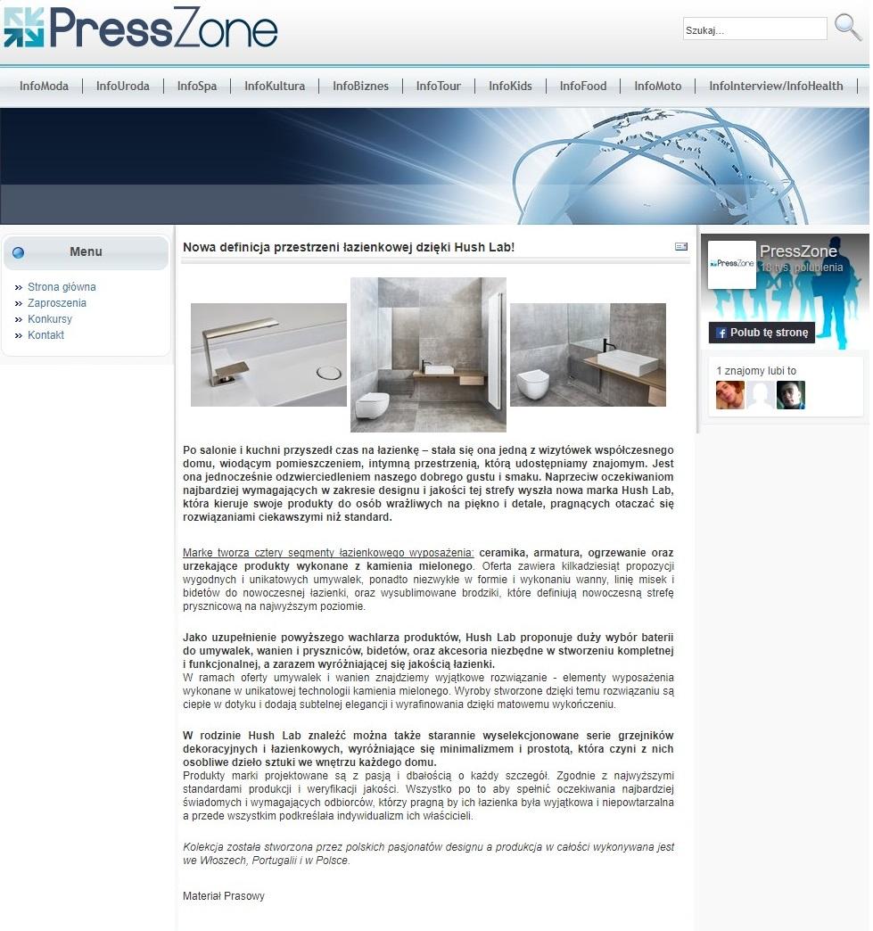 Hush Lab na Presszone.pl