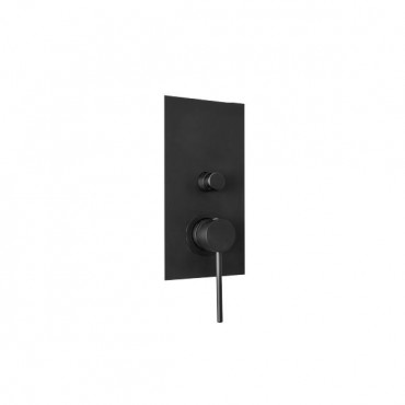 HushLab Siena Black Bateria wannowo-prysznicowa podtynkowa - 766692_O1