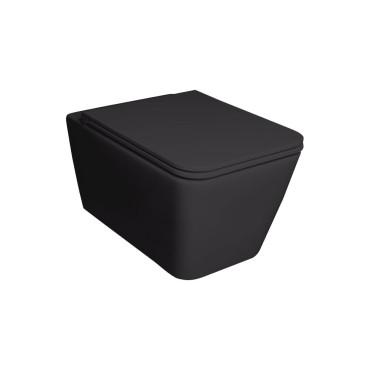 HushLab BLISSFUL miska wisząca 55X35, kolor czarny matowy - 766775_O1
