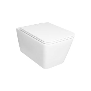 HushLab BLISSFUL miska wisząca 55X35, kolor biała matowy - 766776_O1