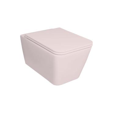 HushLab BLISSFUL miska wisząca 55X35, kolor różowy matowy - 781858_O1