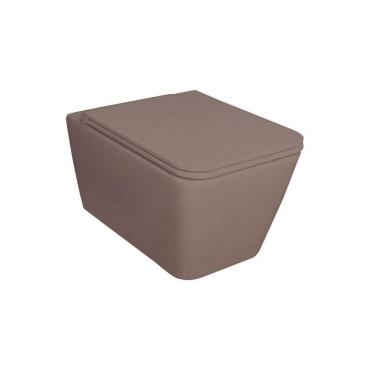 HushLab BLISSFUL miska wisząca 55X35, kolor kawowy matowy - 781598_O1