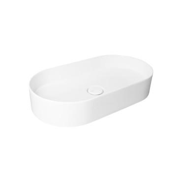 HushLab SLIM 65 umywalka 65X34,5 kolor biała matowy - 766814_O1