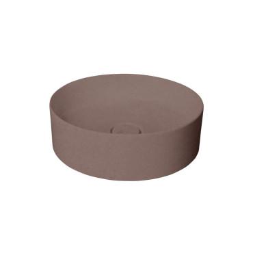 HushLab SLIM 40 umywalka 40X40 kolor kawowy matowy - 781515_O1