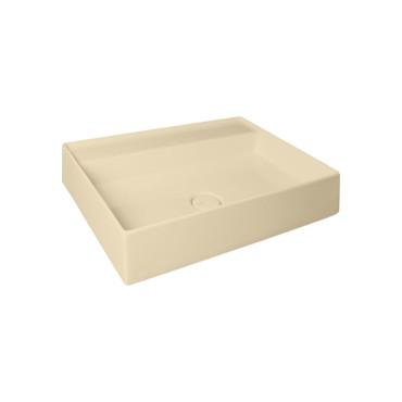 HushLab IN LOVE 80S umywalka wisząca 80X45cm kolor piaskowy matowy - 781872_O1
