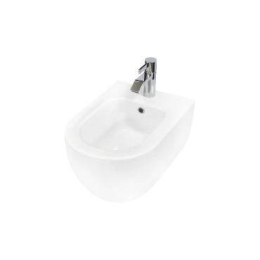 HushLab Calm Bidet wiszący 50x35 kolor biały matowy - 766683_O1