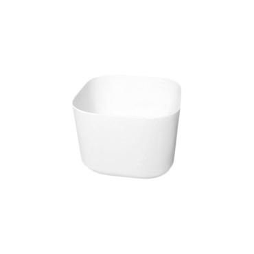 HushLab Cloud umywalka kwadratowa 40x40 h.30 kolor biała matowy - 767031_O1