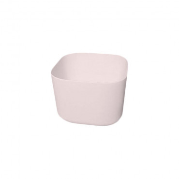 HushLab Cloud umywalka kwadratowa 40x40 h.30 kolor różowy matowy - 781778_O1