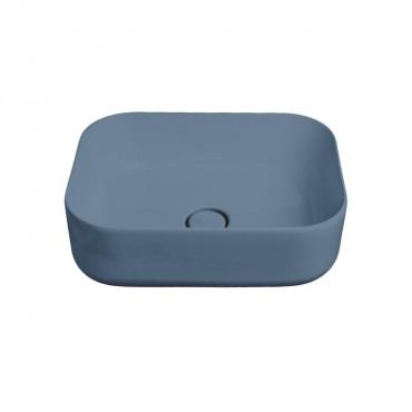 HushLab Cloud umywalka prostokątna 50x37 h.16,5 kolor indigo matowy - 781750_O1