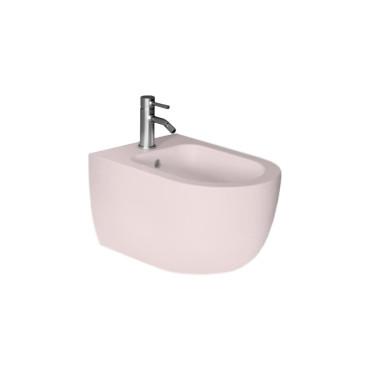 HushLab Calm bidet wiszący 55x35 kolor różowy matowy - 781494_O1