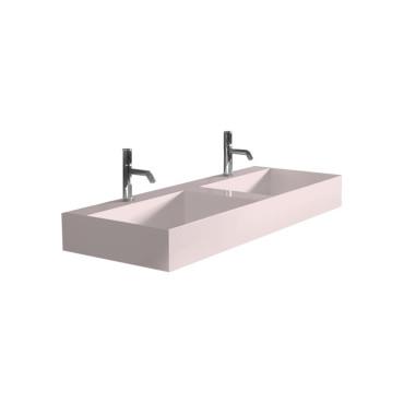 HushLab InLove umywalka wisząca 120S 120x45 kolor różowy matowy - 781959_O1