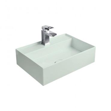 HushLab InLove umywalka wisząca 50S 50x35 kolor jasnozielony matowy - 782052_O1