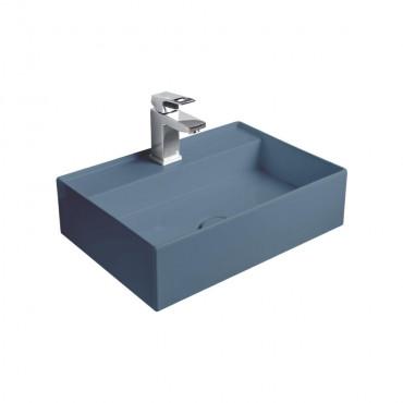 HushLab InLove umywalka wisząca 50S 50x35 kolor indigo matowy - 781903_O1
