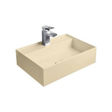 HushLab InLove umywalka wisząca 50S 50x35 kolor piaskowy matowy - 781945_O1