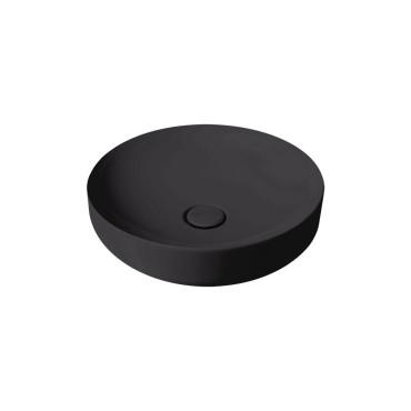 HushLab Soul 45 umywalka okrągła fi. 45 kolor czarny matowy - 773263_O1