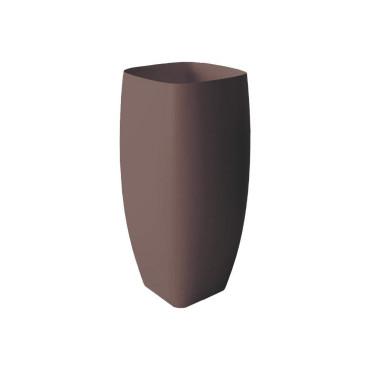 HushLab Run umywalka stojąca 45x40 kolor kawowy matowy - 781525_O1