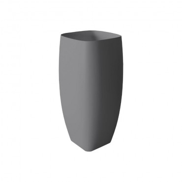 HushLab Run umywalka stojąca 45x40 kolor antracytowy matowy - 781591_O1