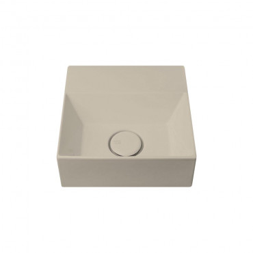 HushLab Small 30 umywalka wisząca 30x30 kolor khaki matowy - 781850_O1